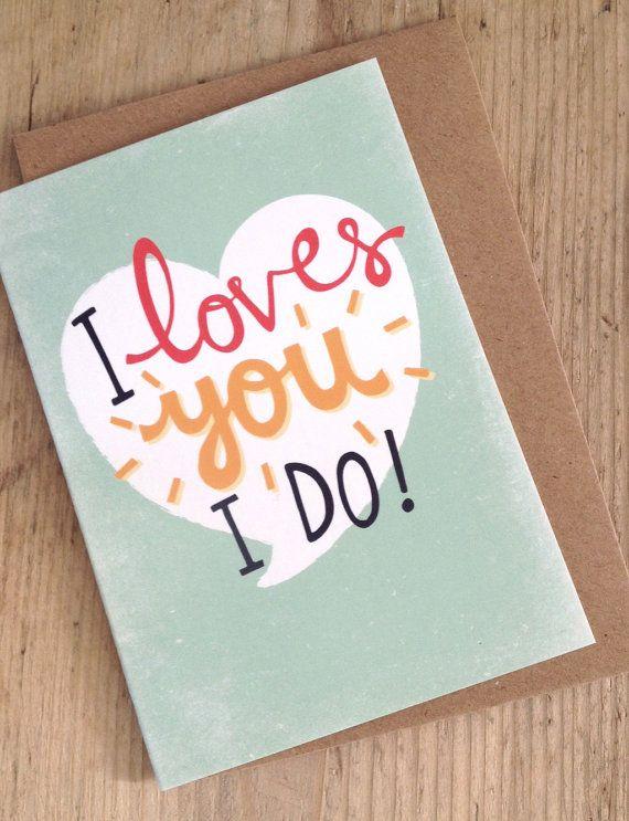I loves you i do welshisms valentines day card welsh slang wales i loves you i do welshisms valentines day card welsh slang wales m4hsunfo