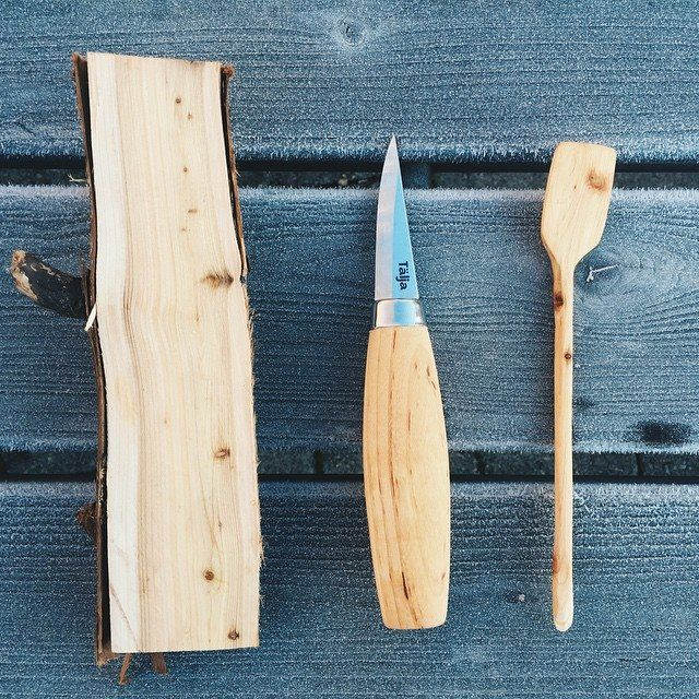 #woodworking #sweden #butterknive #mindfulness