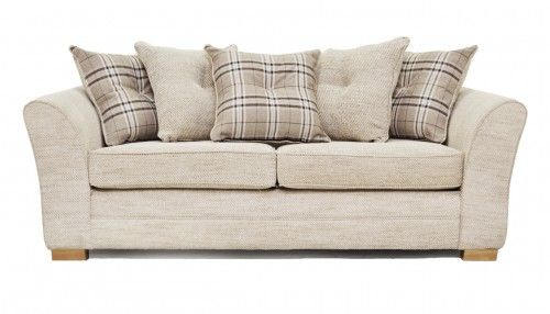Leather Sectional Sofa Charlotte large scatter back sofa by Sofa Factory