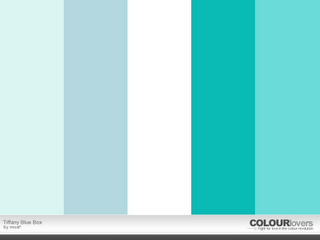 Tiffany Blue Color Palette For The Home Tiffany Blue Color
