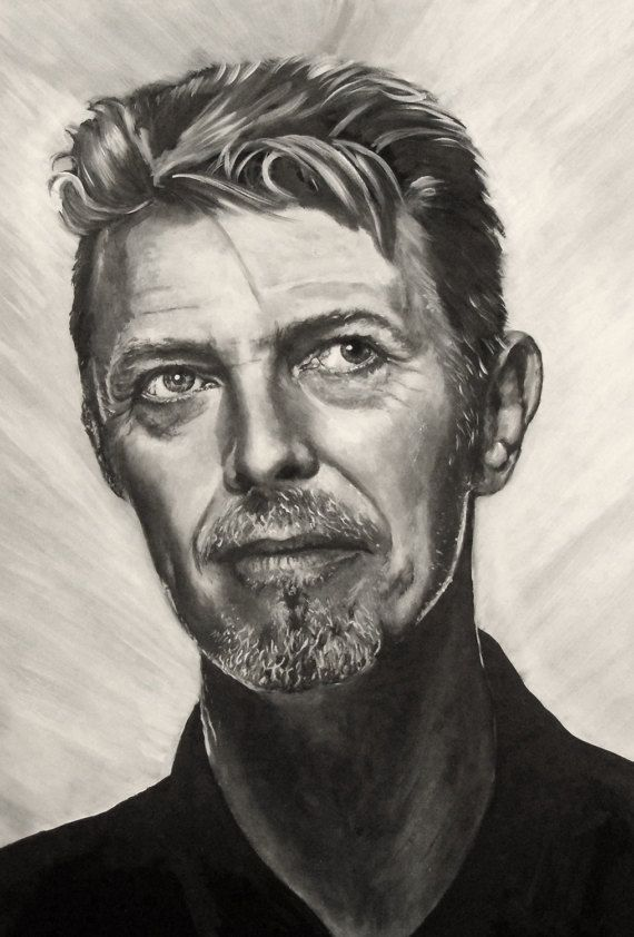 Limited Edition Artist print direct from art studio David Bowie