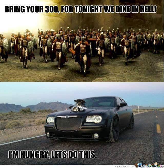 Chrysler 300 meme