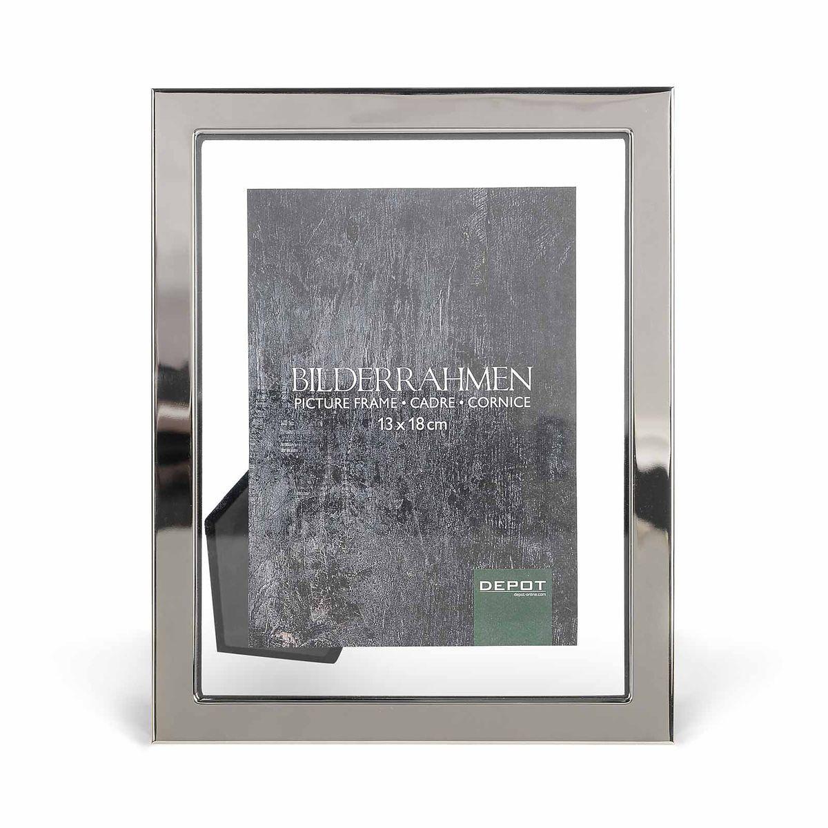 Bilderrahmen Clear silber 10x15 cm