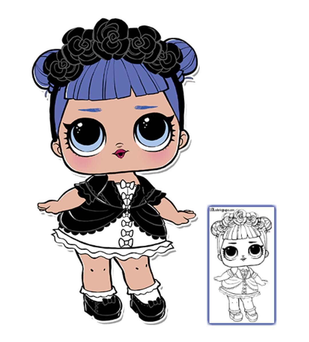 Visit Lolcoloringpages Com Where You Can Print And Color Your L Lol Surprise Dolls Like Midnight And Many More For Lol Dolls Big Eyes Doll Cool Coloring Pages