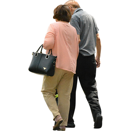 Something About Seeing Two People In Their Golden Years Walking Together Just Makes Me Feel Warm And Fuzzy Inside I Hop People Png People Cutout Render People