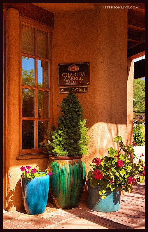 Santa Fe Style Living Room: Favorite Places & Spaces