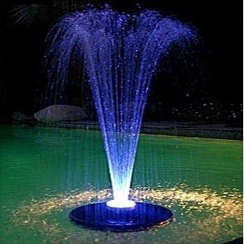 Alpine spray fountain
