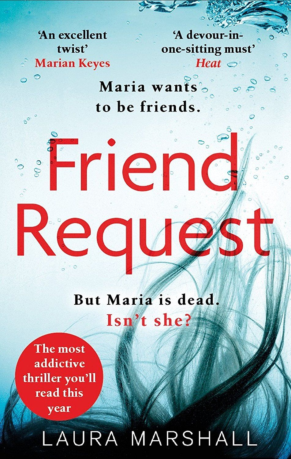 Friend Request The Most Addictive Psychological Thriller You Ll