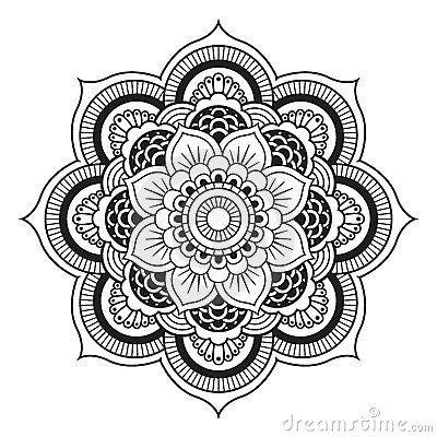 Mandala Templates Royalty Free Stock Image Mandala Mandala