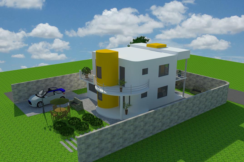 Espaciohonduras dise os y planos proyecto cm2 k1 http for Proyectos minimalistas