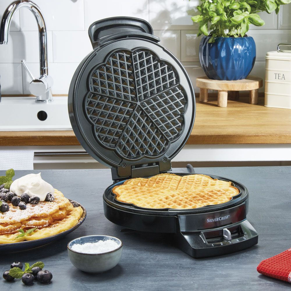Love Waffles You Ll Love This Heart Shaped Waffle Maker In Lidl Stores Today In 2020 Waffles Maker Heart Shaped Waffle Maker Lidl