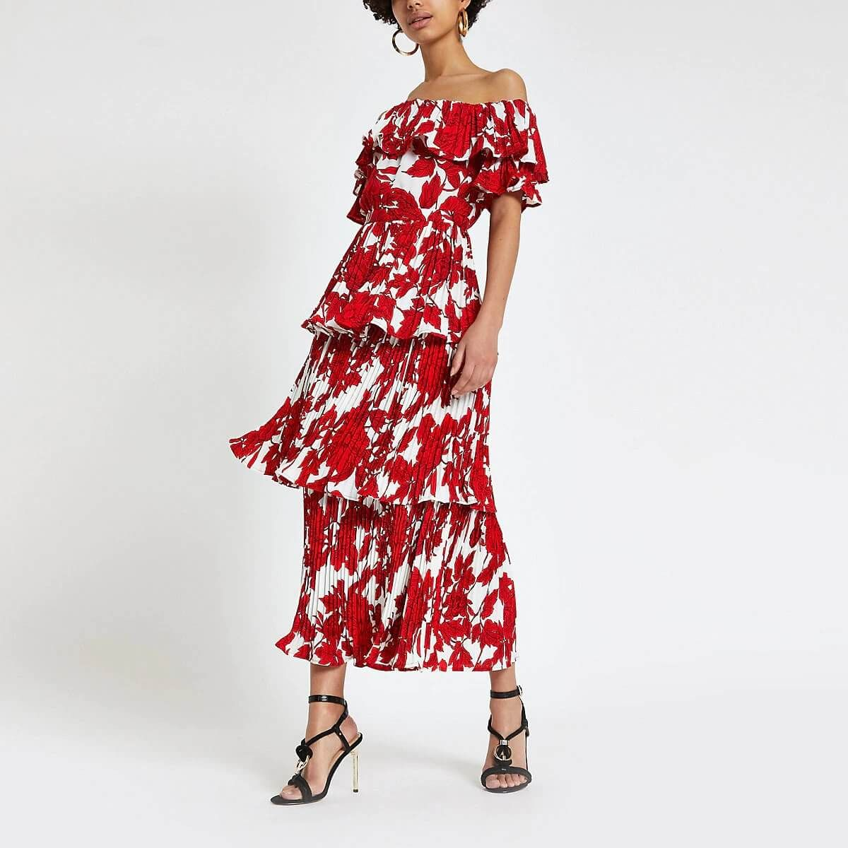Best Options For Dresses To Wear On Wedding Fashionterest Dresses To Wear To A Wedding Bardot Midi Dress Midi Dress [ 1200 x 1200 Pixel ]