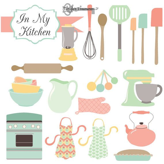 Kitchen Design Clip Art: Buy 2 Get One Free Instant Download In My By