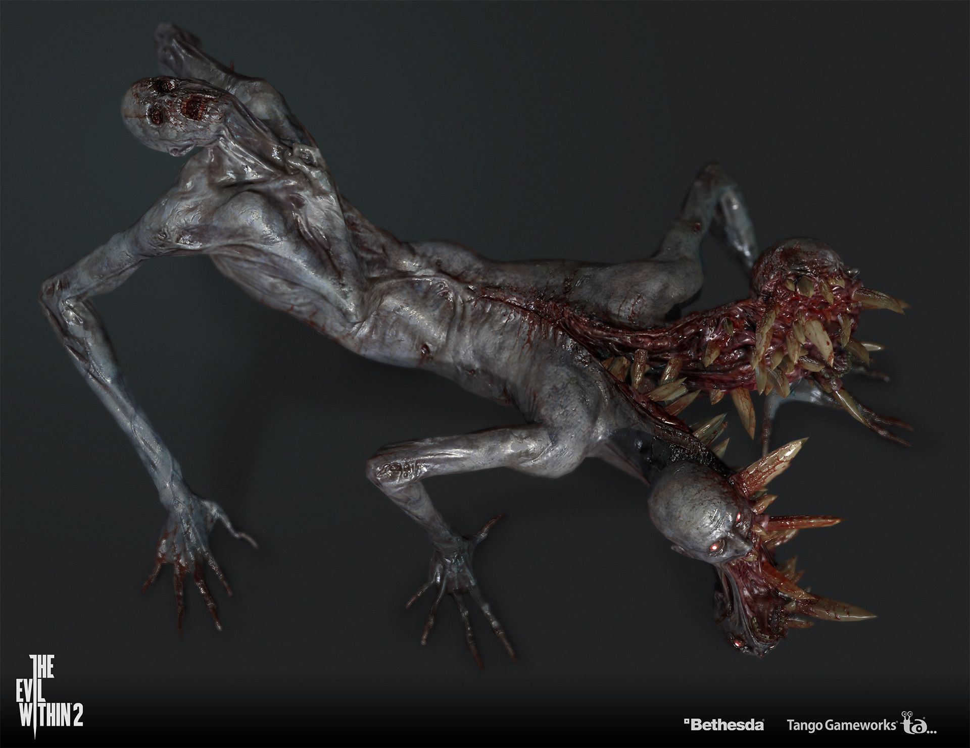 33 The Evil Within 2 Concepts Ideas The Evil Within Evil Creature Design