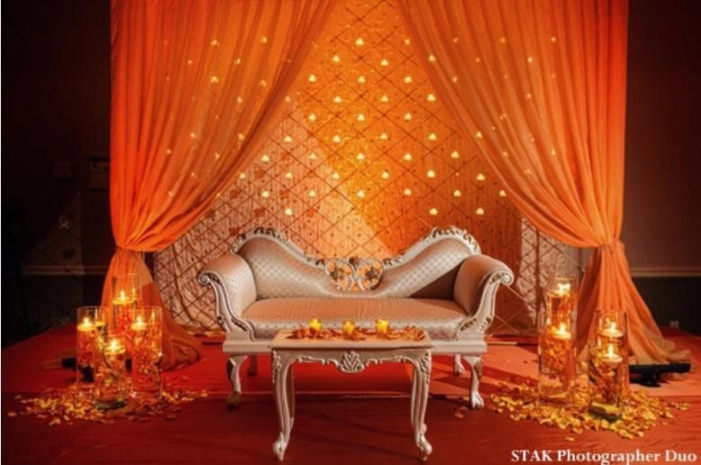 Wedding home decoration luxurious indian house decor ideas for engagement stage also best images hindu weddings rh pinterest