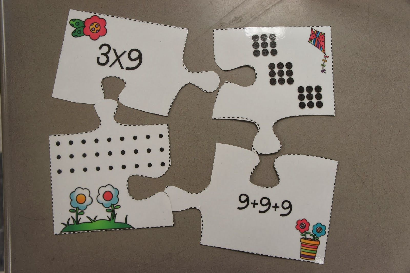 Multiplication Amp Division Puzzles One Of Then Center Activities That Review All Of The Third