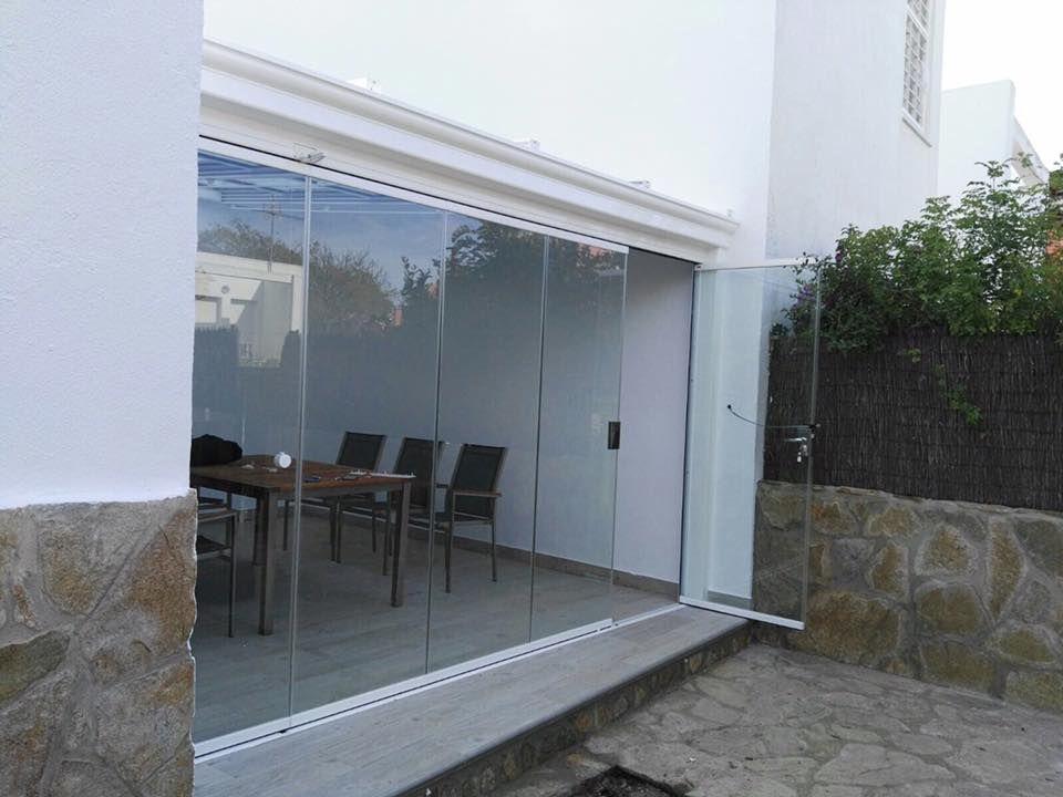 Cortina de vidrio para cerramientos de terraza Buenos acabados para