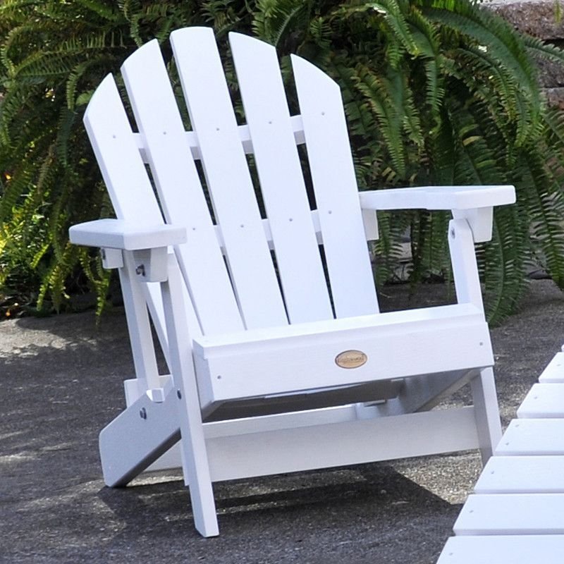 Folding & Reclining Child Adirondack Chair with Cushion