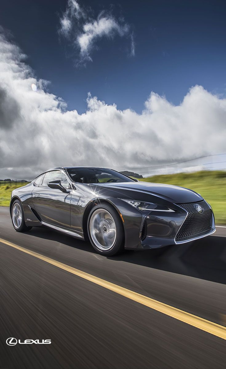 Experience The Future Of Lexus High Performance In The 2018 Lexus Lc