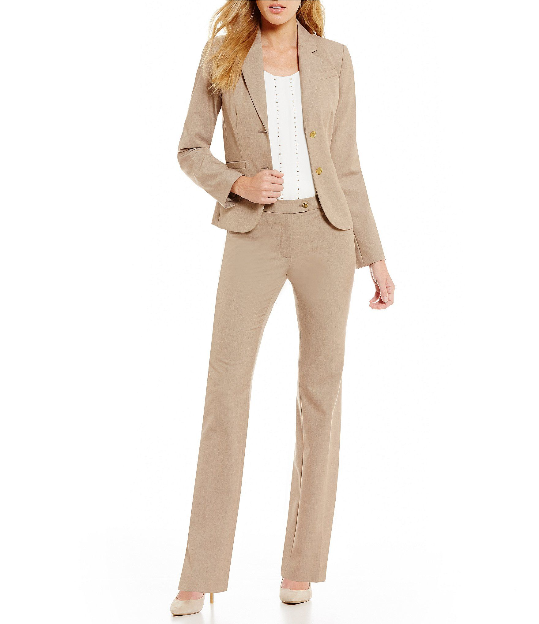 Shop for Calvin Klein Two-Button Suit Jacket and Modern Fit Straight-Leg  Pants at Dillards.com. Visit Dillards.com to find clothing e1d7296fd6d9