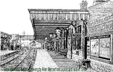 Great Harwood Railway Station History Railway Station Fiddler On The Roof