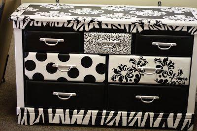 Best Dresser Drawer Black White Black And White Furniture 400 x 300