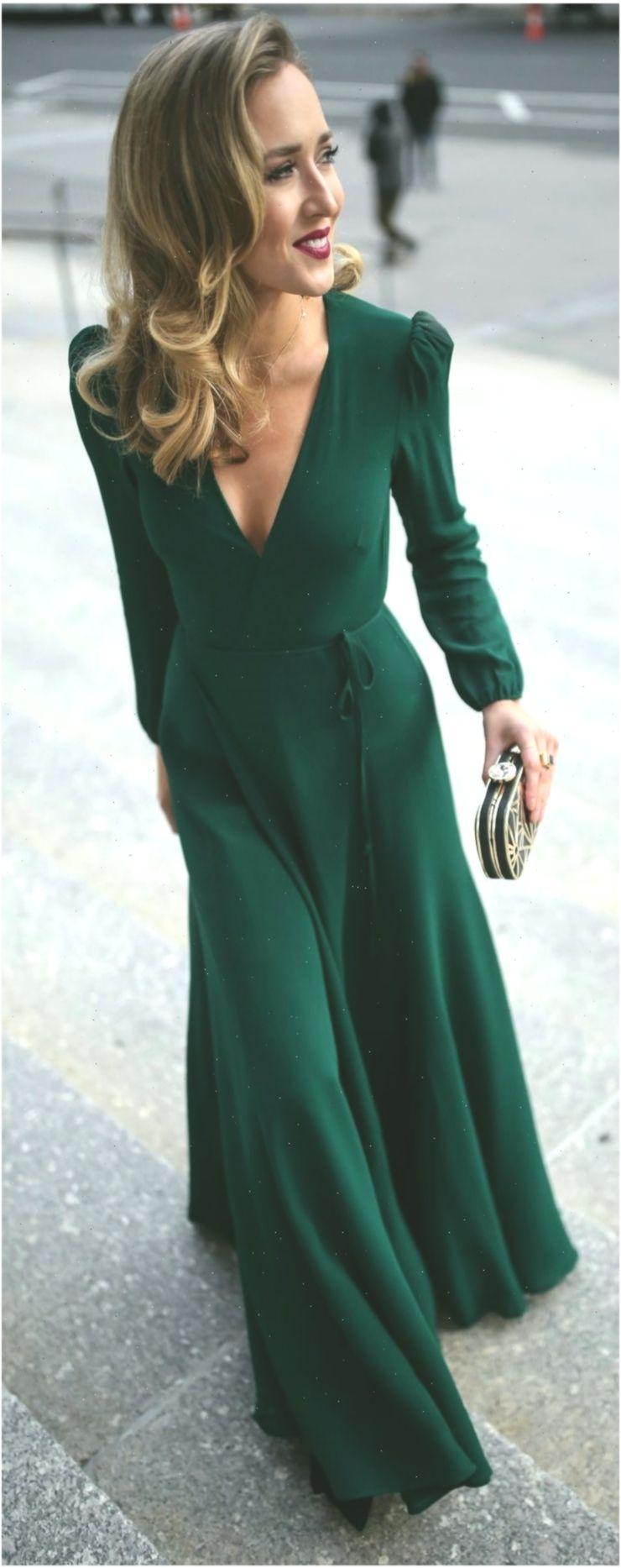 Emerald Green Long Sleeve Floor Length Wrap Dress Black And Gold Geometric Patt Fashiondressesformal Fash Long Green Dress Wrap Dress Emerald Green Dresses [ 1867 x 740 Pixel ]