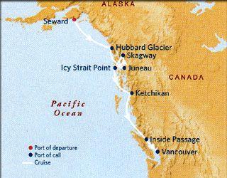 Celebrity Cruises Southbound Alaska Cruise Millennium Ship - Cruise ship route vancouver to alaska