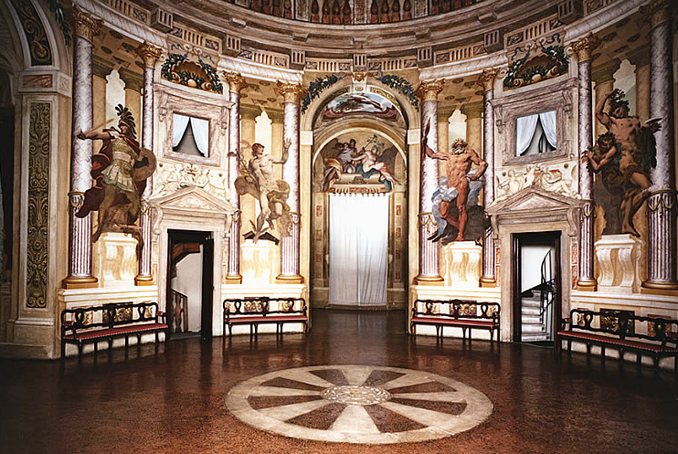 Villa Rotunda Interior Gallery Fundamentals Week 9 10 Palladio