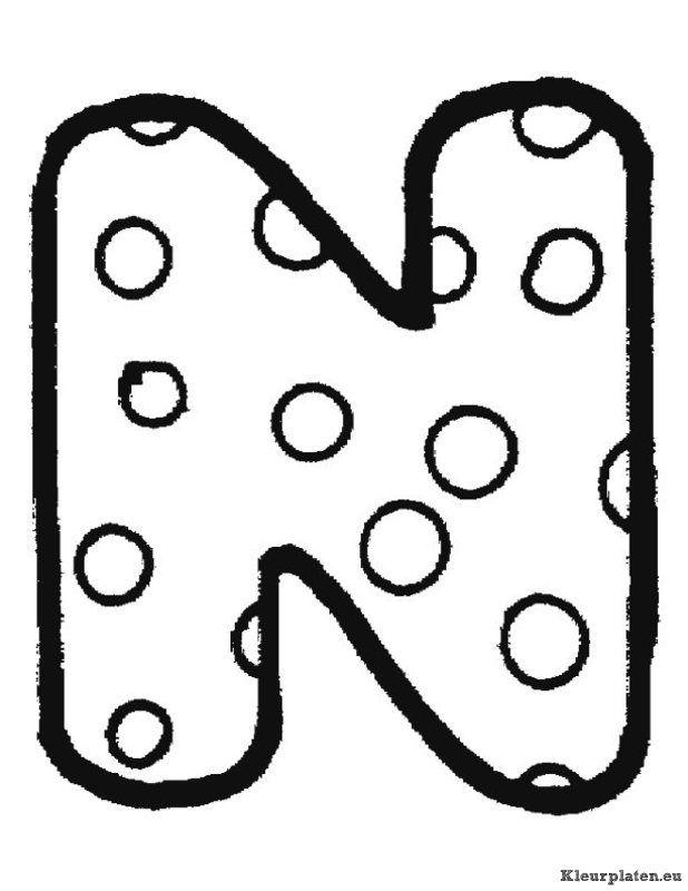 Kleurplaten Letters Alfabet.Alfabet Kleurplaten Kleurplaten Alphabet Coloring Pages