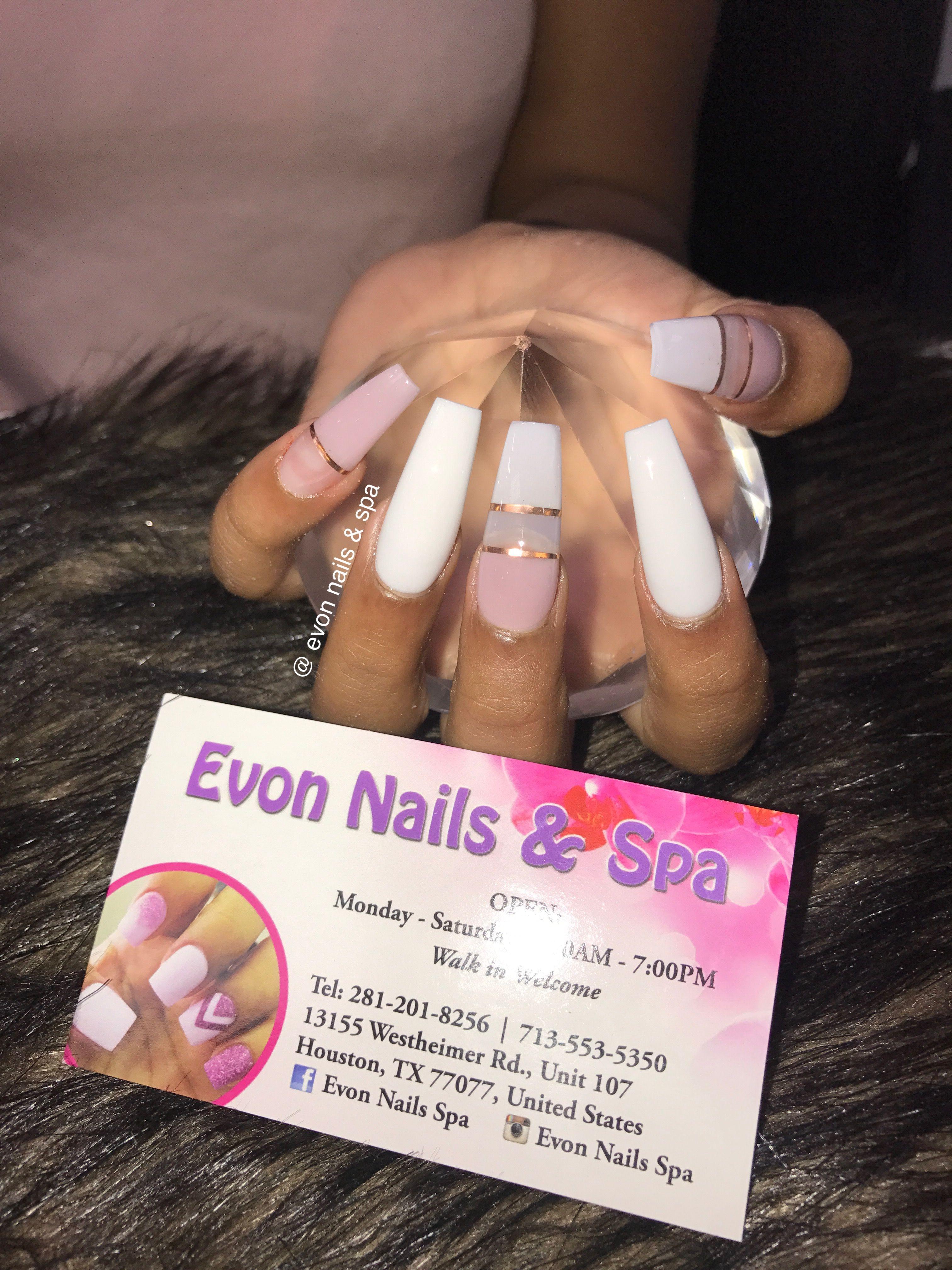 Pin By Evon Nails Spa On Evon Nails Spa Instagram Evon Nails Spa Facebook Evon Nails Natural Nails Nail Spa Nails