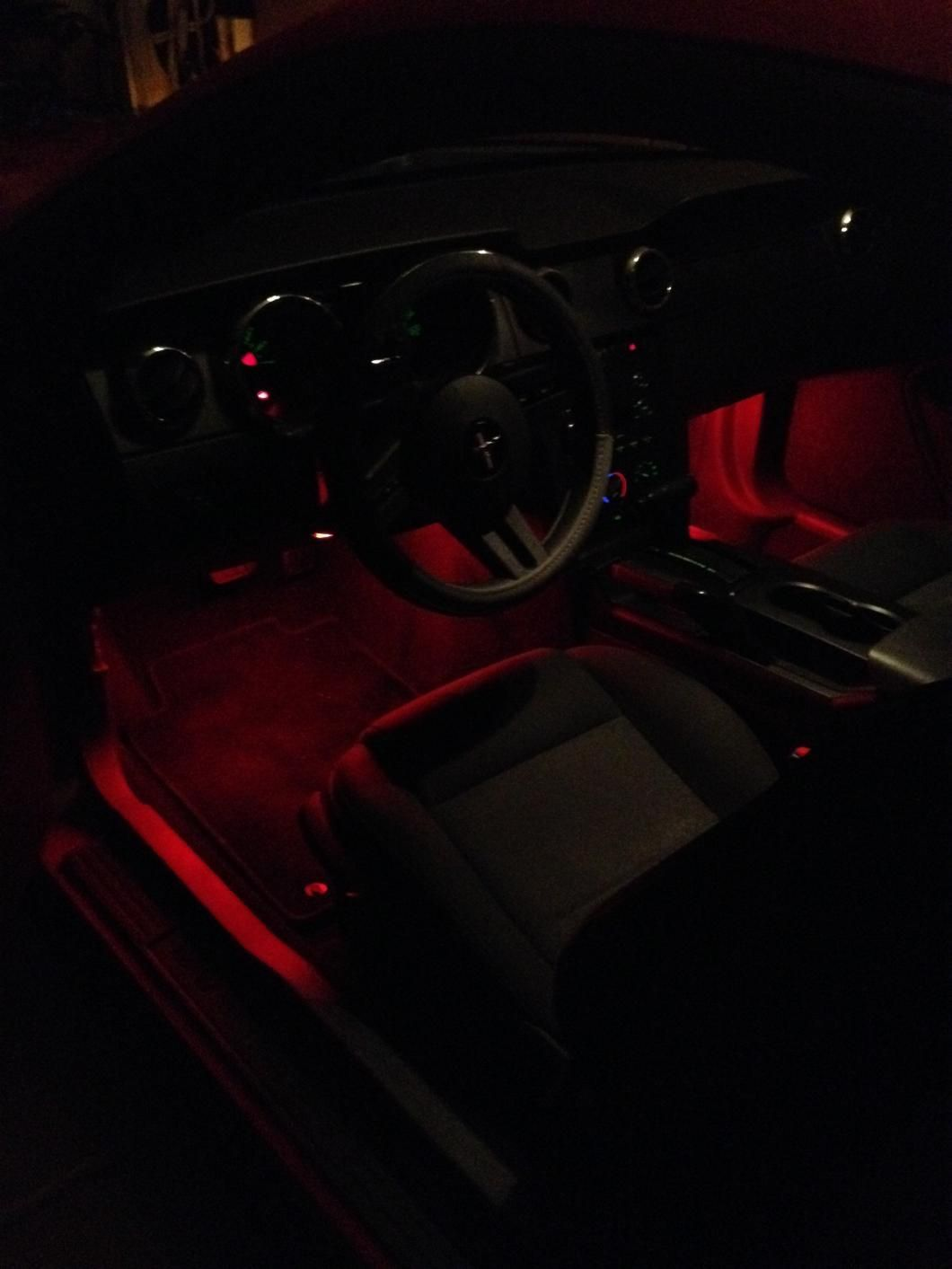 Axial Mustang 15 in. LED Strips - Red 386366