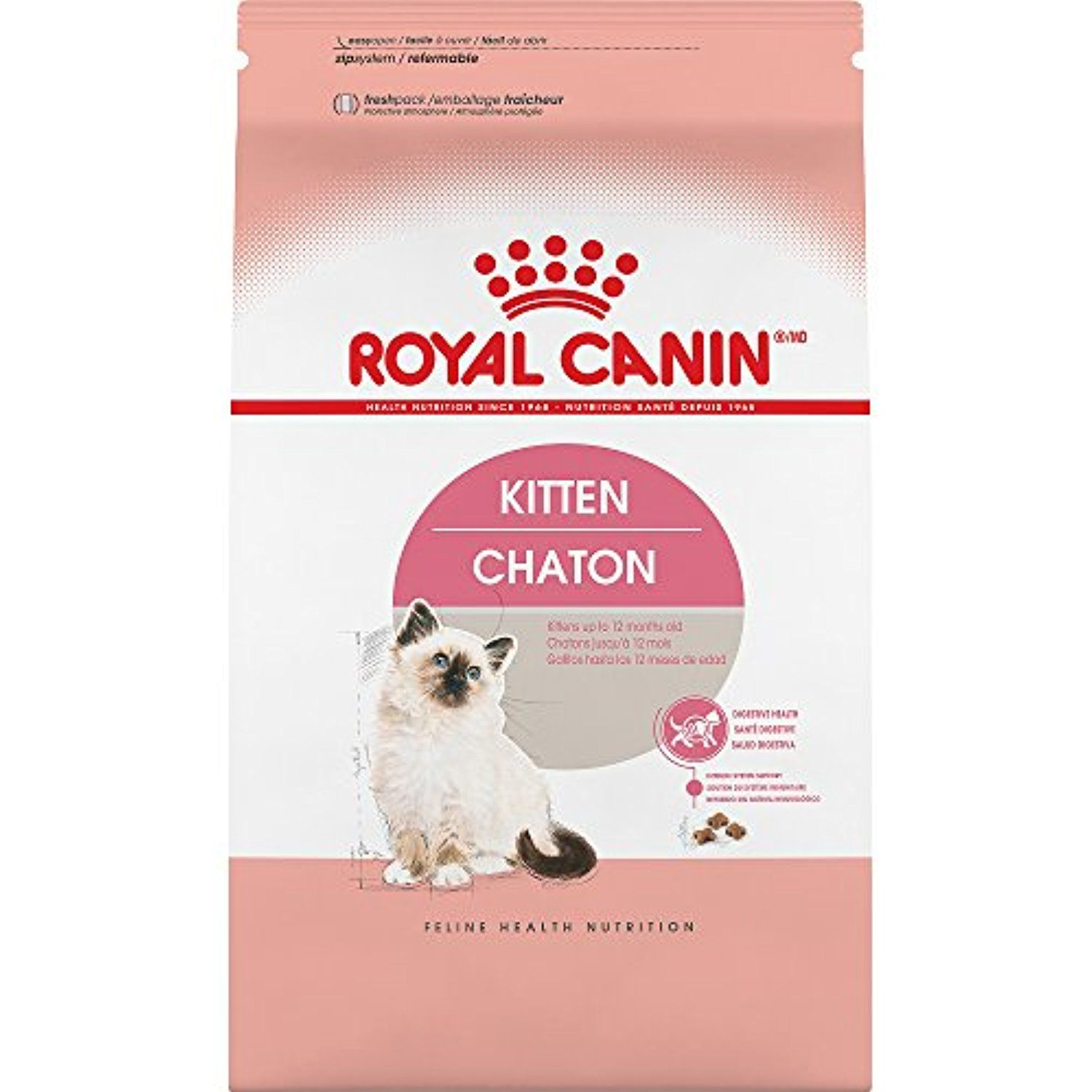 Royal Canin Feline Health Nutrition Kitten Dry Cat Food 7 Pound Want Additional Info Click On The Image This I Feline Health Dry Cat Food Cat Nutrition