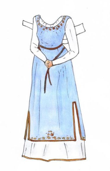 Guinevere Paper Doll - One of My Own - Sharon Souter - Picasa Webalbum*1500 free paper dolls for Christmas at artist Arielle Gabriels The International Paper Doll Society and also free Asian paper dolls at The China Adventures of Arielle Gabriel *