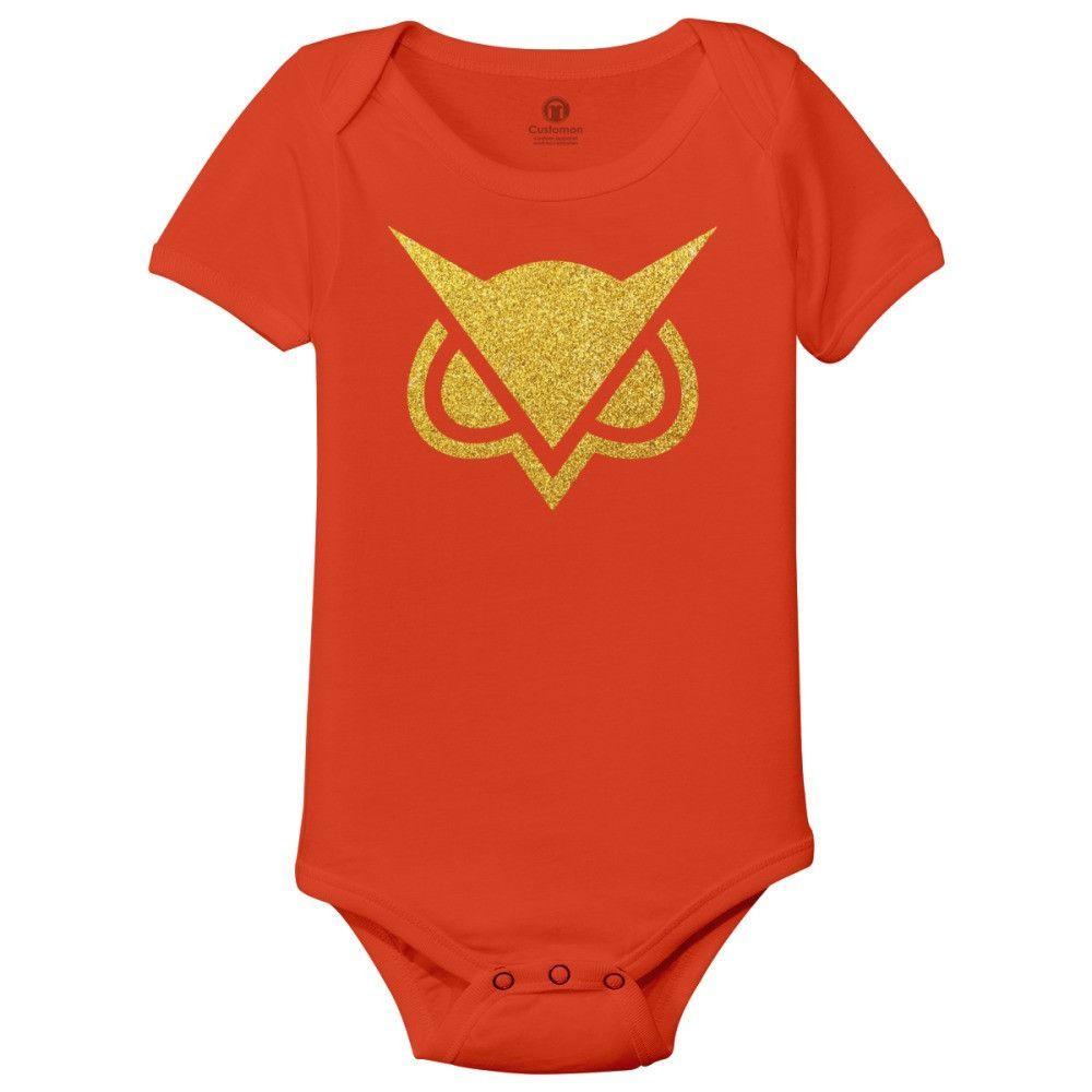 Vanoss Glitter Gold Baby Onesies