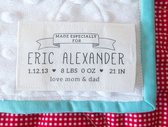 Image result for quilt labels | Quilt Labels | Pinterest | Best ... : personalized fabric labels for quilts - Adamdwight.com