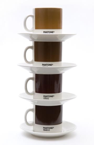 Pantone expresso cup! Love them in brown!
