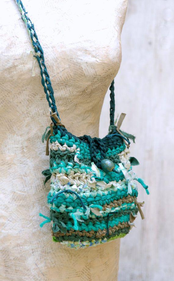 Woodland Fairy Bag, Eco Friendly Green Purse, Fabric ...