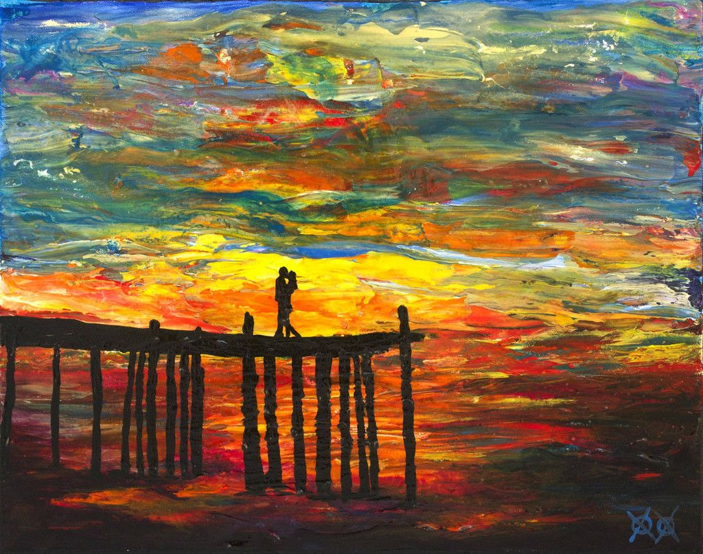 After Losing His Sight Painter John Bramblitt Feels The Colors On Canvas