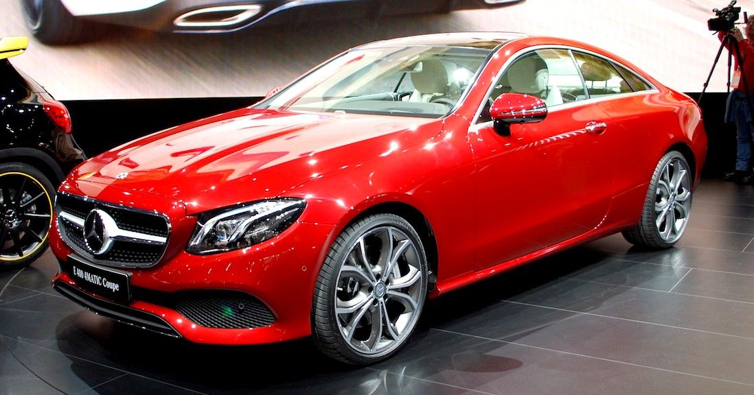 New Mercedes-Benz E400 4Matic Coupe Revealed !