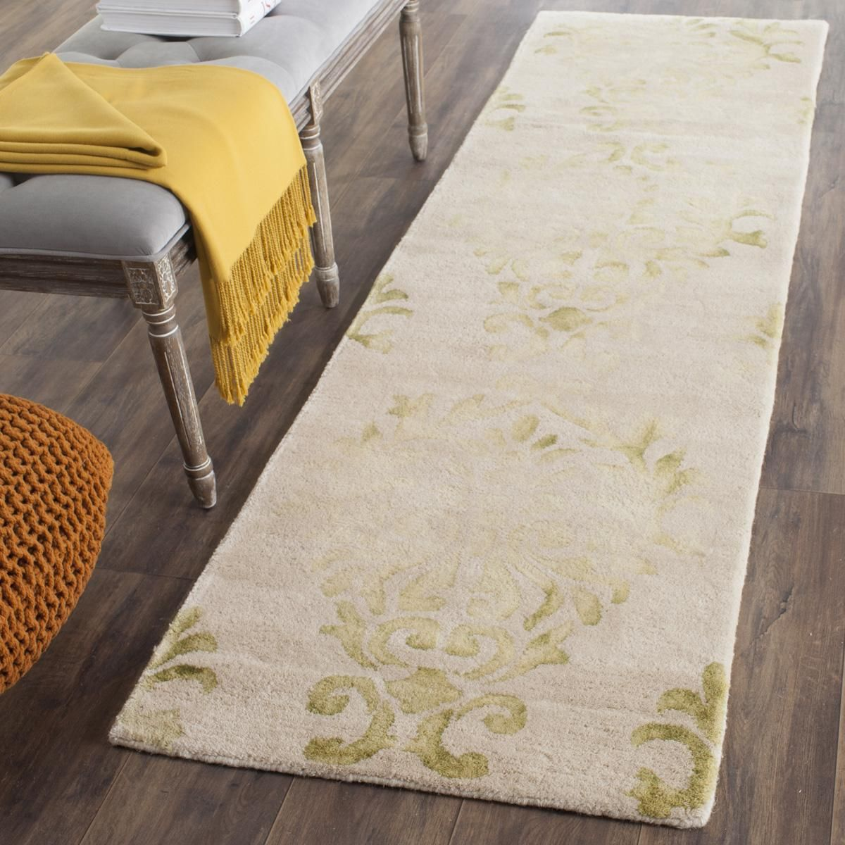 Dip Dye Collection DDY516B Color: Beige / Green - #safavieh #safaviehrugs #safaviehrunners #rugrunners #rugs #hallwayrugs #entrywayrugs #staircaserugs #staircasecarpets #entrywaycarpts #bedroomrugs #livingroomrugs #diningroomrugs #kitchenrugs #hallwaydecor #entrywaydecor #shoprugs #runnercarpets #bluerunnerrug #tauperunnerrug