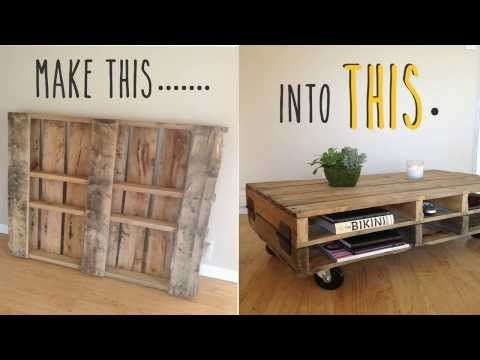 29 Incredible Man Cave Ideas On A Budget Diy Projects Pallet Coffee Table Diy Diy Table Design Pallet Furniture