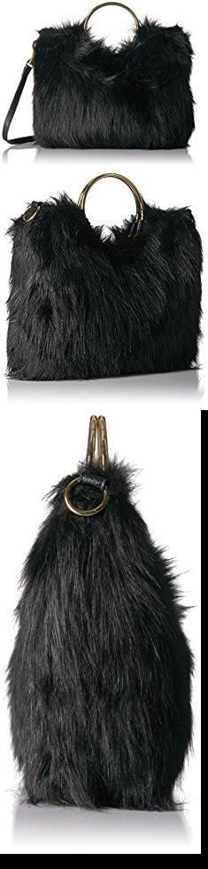 8be36c3dc7ed Fur Handbags. T-Shirt & Jeans Faux Fur Ring Bag. #fur #handbags ...