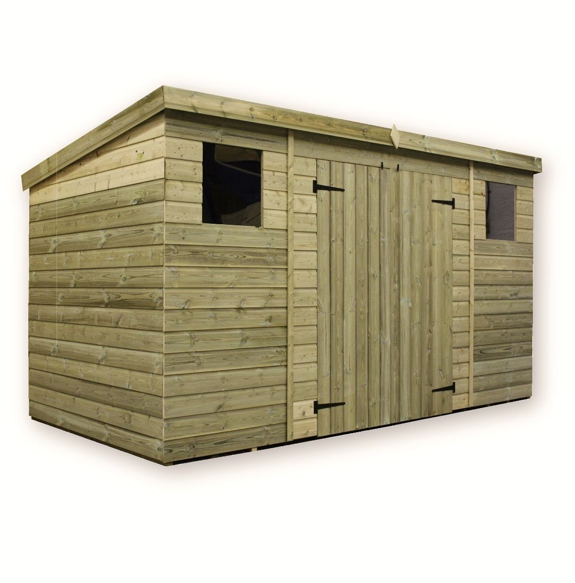 Details About Wooden Garden Shed 10x6 12x6 14x6 Pressure Treated Tongue And Groove Pent Shed Wooden Sheds Garden Shed Shed