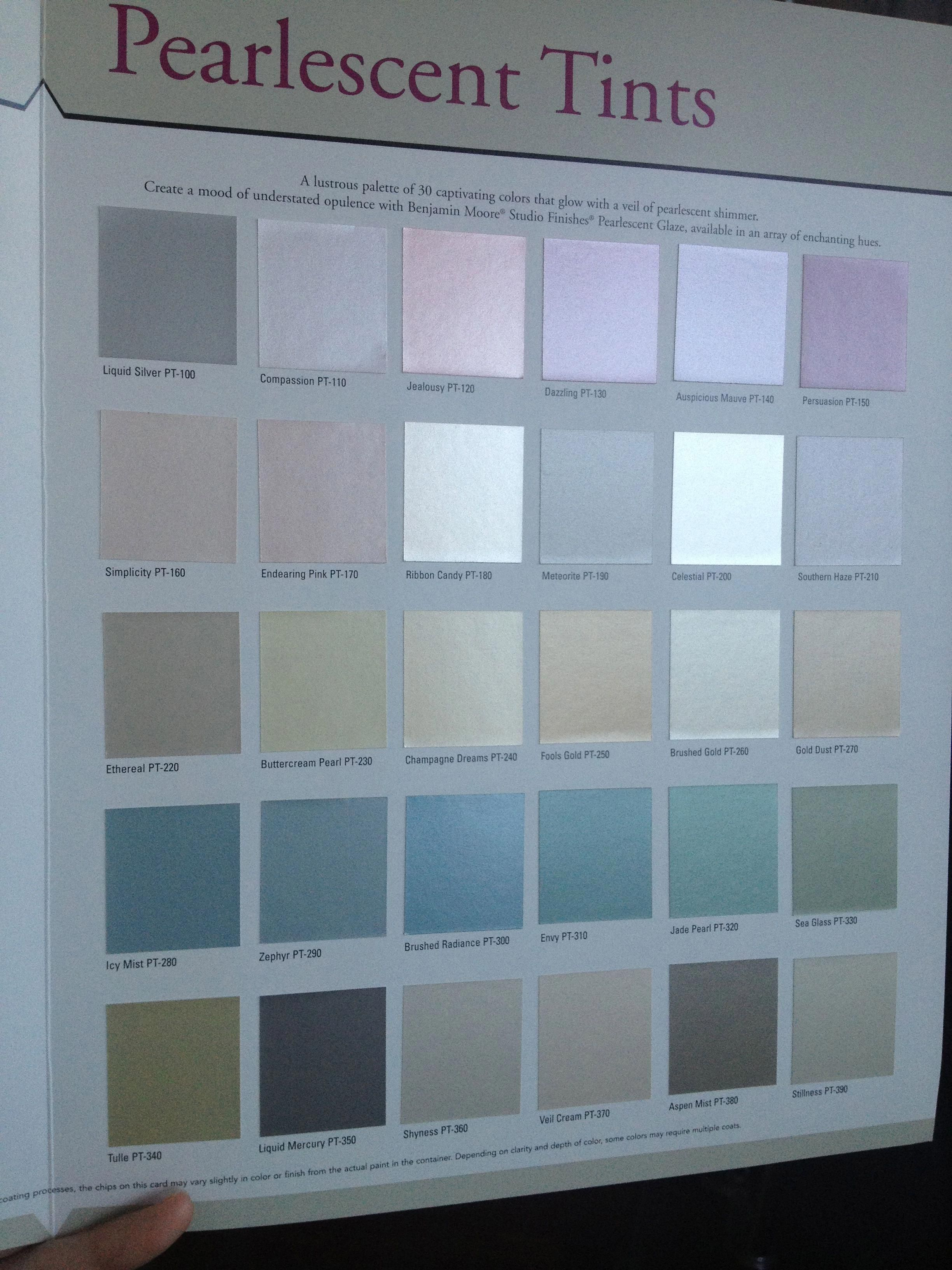 benjamin moore pearlescent tints on interior wall paint colors id=29067