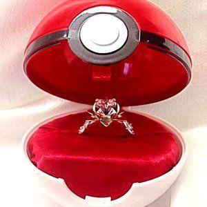 Anime Wedding Ring Box