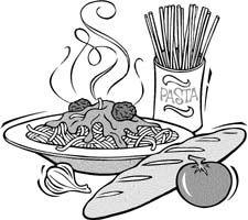 Pin By Miriam Mixon On Spaghetti Clip Art Spaghetti Dinner Cool Photos
