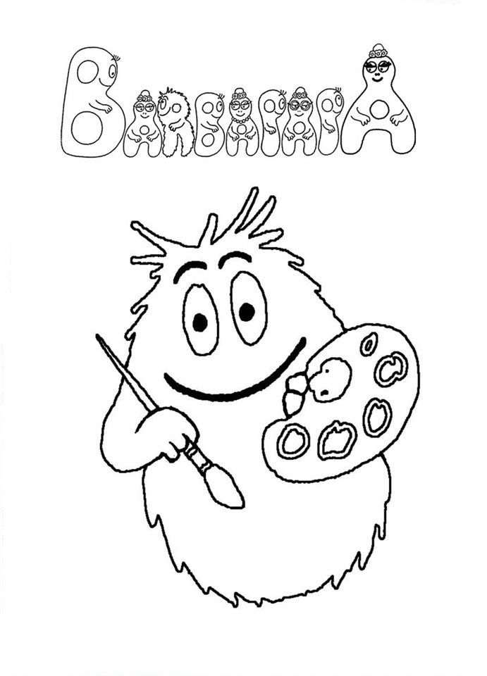 Barbapapa Ready To Paint Barbapapa