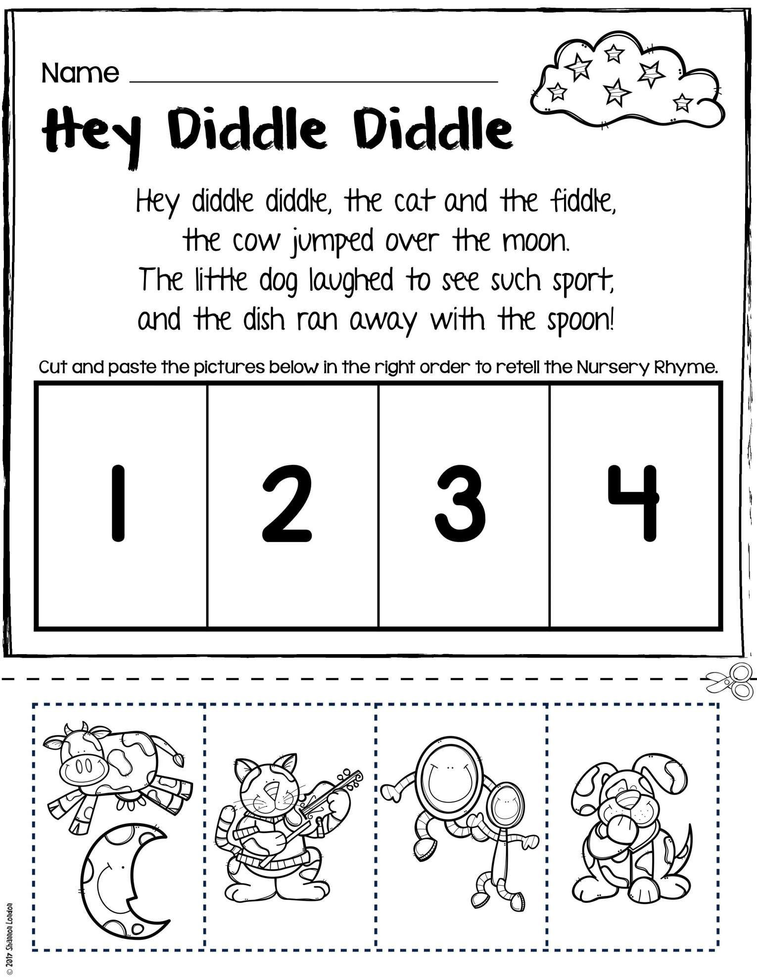 9 Kindergarten Story Retell Worksheet