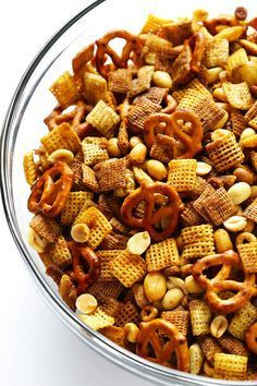 Extra-Bold Chex Mix images